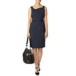 Dorothy Perkins - Navy and black tab pencil dress