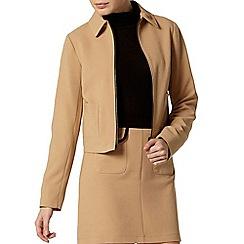 Dorothy Perkins - Camel western jacket
