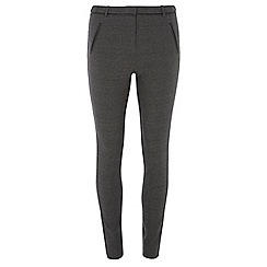 Dorothy Perkins - Tall charcoal check skinny bengaline trousers