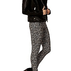 Dorothy Perkins - Stone animal bengline trousers