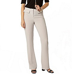 Dorothy Perkins - Grey patch pocket flare trousers