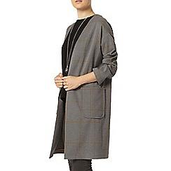 Dorothy Perkins - Grey check duster jacket