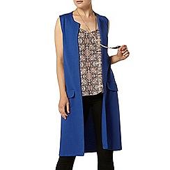 Dorothy Perkins - Cobalt sleeveless jersey jacket