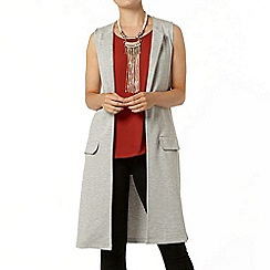 Dorothy Perkins - Grey sleeveless jersey jacket