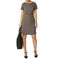 Dorothy Perkins - Grey check skater dress