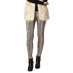 Dorothy Perkins - Snake print skinny trouser