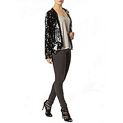 Dorothy Perkins - Charcoal sequin jacket