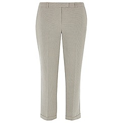 Dorothy Perkins - Mono mini square straight leg trousers