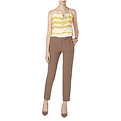 Dorothy Perkins - Tall mocha ankle grazer trouser