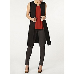 Dorothy Perkins - Black sleeveless jacket