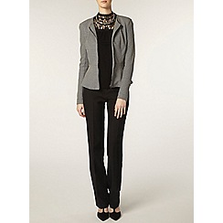 Dorothy Perkins - Tall grey peplum jacket