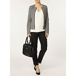 Dorothy Perkins - Grey peplum jacket