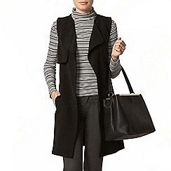 Dorothy Perkins - Black sleeveless jacket