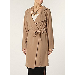 Dorothy Perkins - Stone waterfall jacket