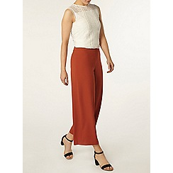 Dorothy Perkins - Ginger wide leg crop