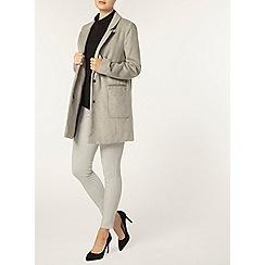Dorothy Perkins - Grey marl skinny trousers