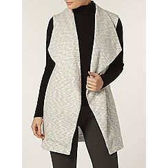 Dorothy Perkins - Grey waterfall knit jacket