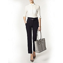 Dorothy Perkins - Tall navy paperbag trouser