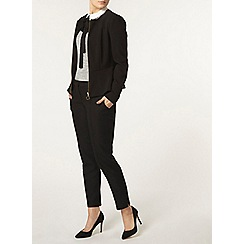 Dorothy Perkins - Black pephem jacket