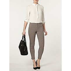 Dorothy Perkins - Camel tile skinny trousers