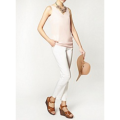Dorothy Perkins - Tall white cotton crop