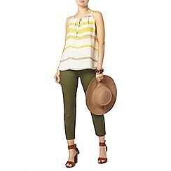 Dorothy Perkins - Khaki tab cotton crop