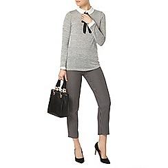 Dorothy Perkins - Mono spot zip detail trouser