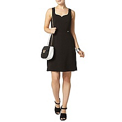 Dorothy Perkins - Black sweetheart dress