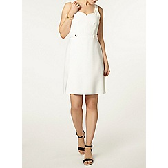 Dorothy Perkins - Ivory skater dress