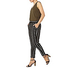 Dorothy Perkins - Khaki stripe pique trouser