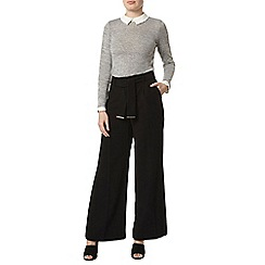 Dorothy Perkins - Black wide leg trousers