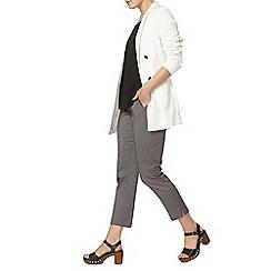 Dorothy Perkins - White wrap long sleeve jacket
