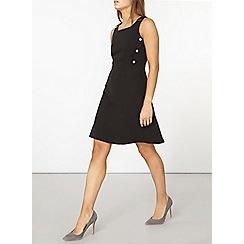 Dorothy Perkins - Black skater dress