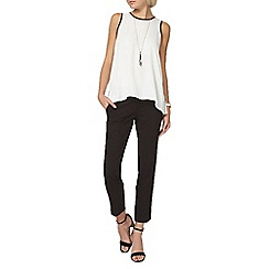 Dorothy Perkins - Black ankle grazer trouser