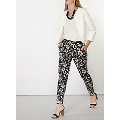 Dorothy Perkins - White collarless jacket