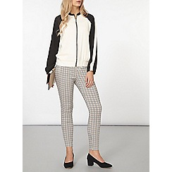 Dorothy Perkins - Amber check bengaline trousers