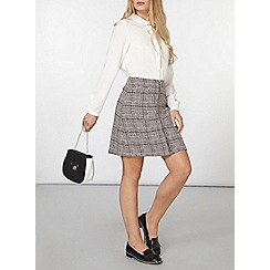 Dorothy Perkins - Pink boucle skirt
