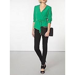 Dorothy Perkins - Green long sleeve jacket