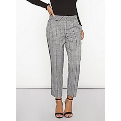 Dorothy Perkins - Prince of wales straight leg trousers