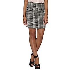 Dorothy Perkins - Mono boucle skirt
