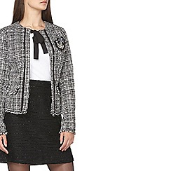 Dorothy Perkins - Tall white boucle jacket