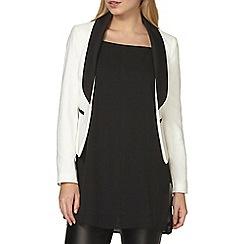 Dorothy Perkins - Black and white tux jacket