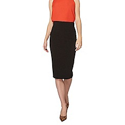 Dorothy Perkins - Tall black benglaine skirt