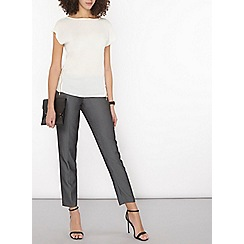 Dorothy Perkins - Tall textures ankle grazer trousers