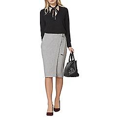 Dorothy Perkins - Grey wrap skirt