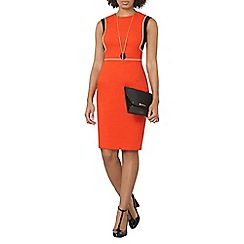 Dorothy Perkins - Red piped block dress