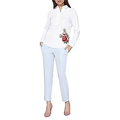 Dorothy Perkins - Pale blue ankle grazer trousers