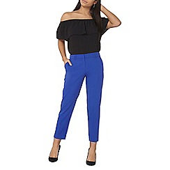 Dorothy Perkins - Cobalt ankle grazer trousers
