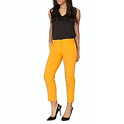 Dorothy Perkins - Orange ankle grazer trousers