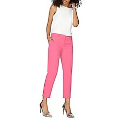 Dorothy Perkins - Pink double loop ankle grazer trousers
